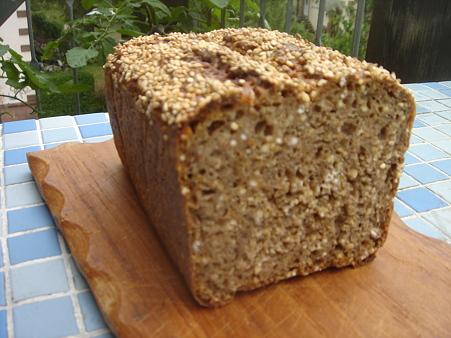 Pão integral para dieta da celulite