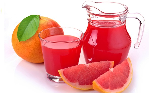 Suco de toranja para eliminar toxinas do fígado