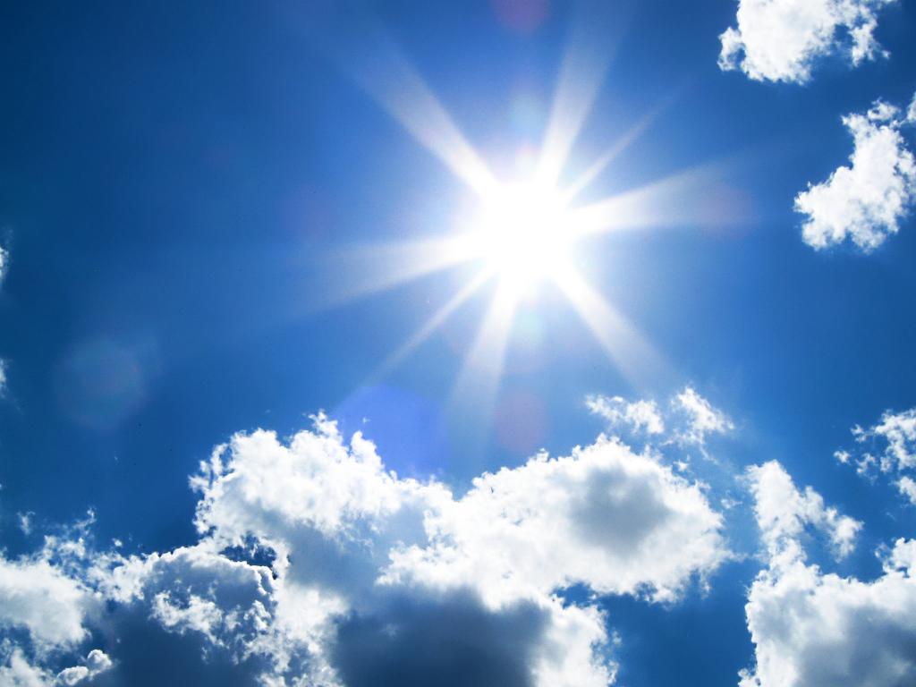 Luz solar para absolver vitamina D