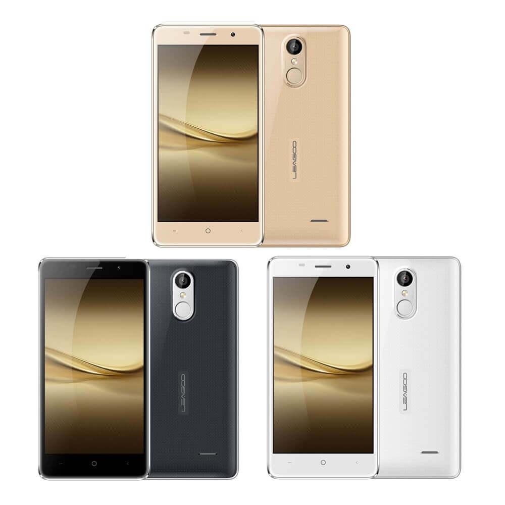 As três cores do celular Leagoo M5