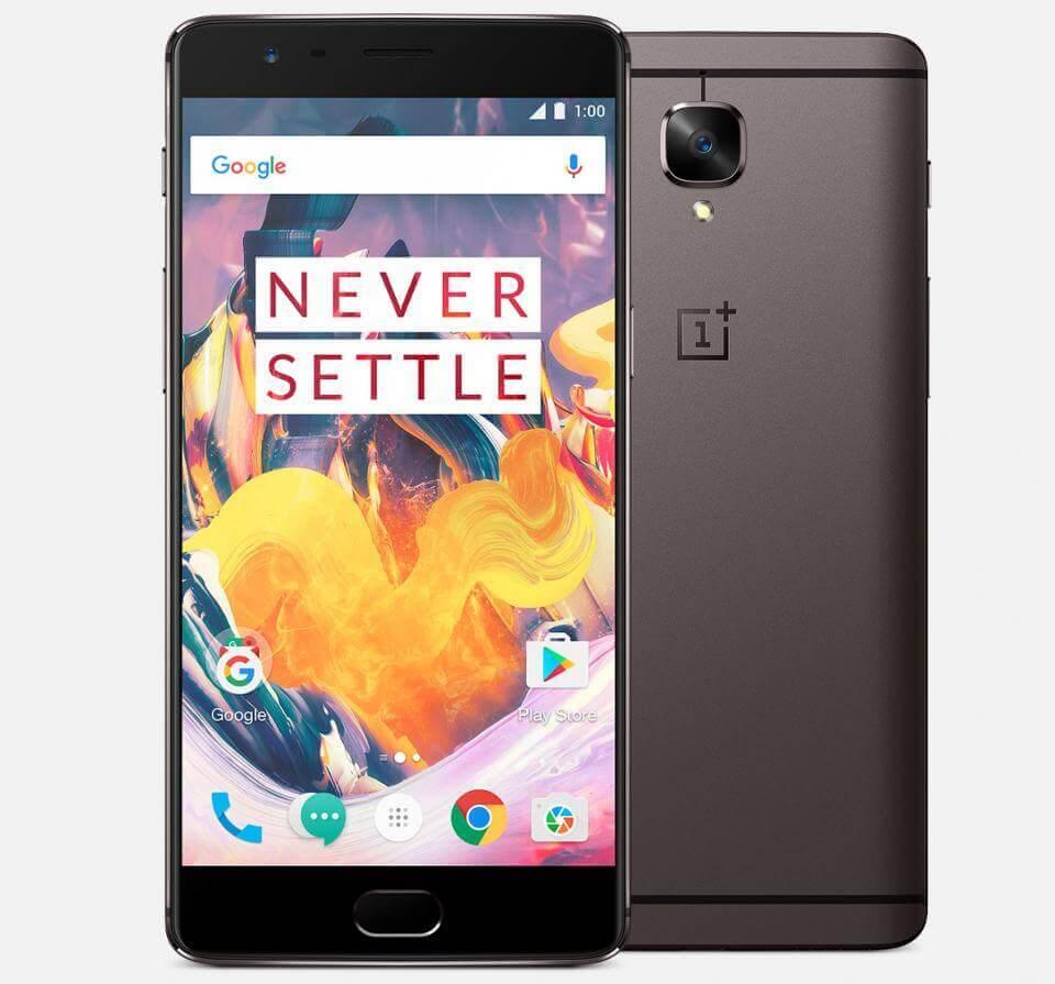 Celular OnePlus 3T cor grafite