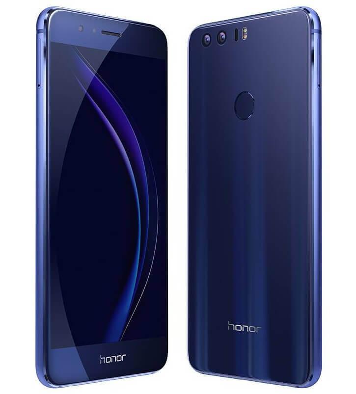 Celular Huawei Honor 8 na cor azul